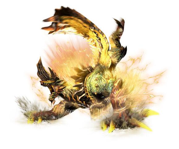 File:MHGen-Golden Thunder Prince Zinogre Render 001.jpg