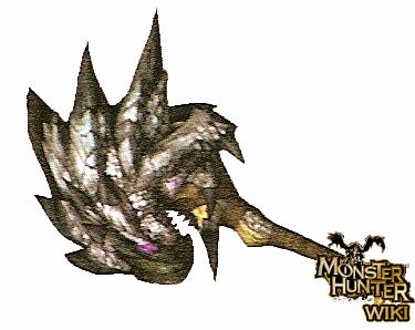File:Silver Rathalos Hammer.png