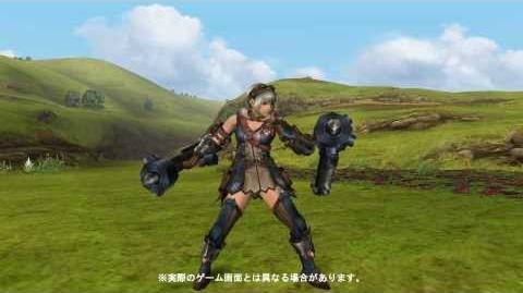 MHF-G『新武器種「穿龍棍」ガード・ステップ』