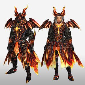 FrontierGen-Barukan G Armor (Blademaster) (Front) Render