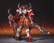 Chogokin-Monster Hunter G Class Henkei Rathalos 005