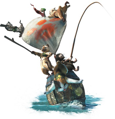 File:MH4U-Meownster Hunters Render 001.png