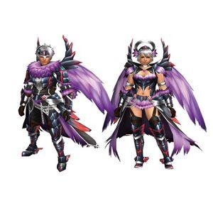 FrontierGen-Tiruru Armor (Both) Render