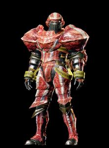 MHO-Hermitaur Armor (Blademaster) (Male) Render 001