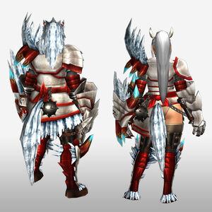 FrontierGen-Disu G Armor (Gunner) (Back) Render