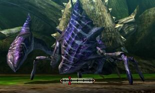 MH4U-Plum Daimyo Hermitaur Left Claw Break 001