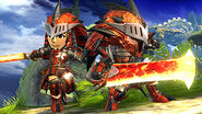 SSB4-Rathalos Armor Screenshot 001