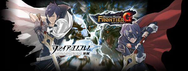 MHFG-Fire Emblem Awakening x MHFG Wallpaper 001