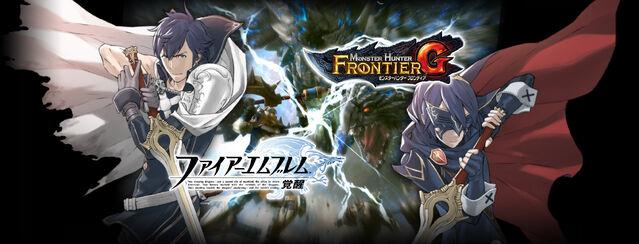 File:MHFG-Fire Emblem Awakening x MHFG Wallpaper 001.jpg
