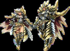 FrontierGen-Guan Armor (Gunner) (Both) Render 2