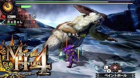 Monster Hunter 4 Nubcakes 13 - Lagombi English commentary online gameplay