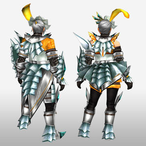 FrontierGen-Akura U Armor 007 (Gunner) (Back) Render
