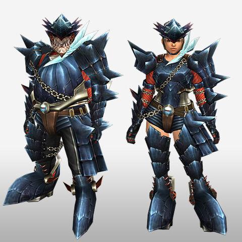 File:FrontierGen-Guren Armor (Gunner) (Front) Render.jpg