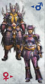 MH3U Gobul Armor (Blade)