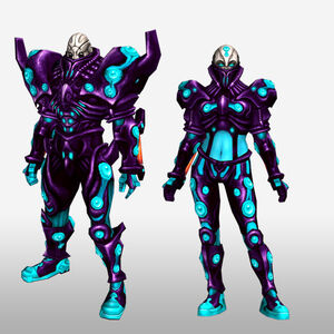 FrontierGen-Genome Armor 009 (Both) (Front) Render