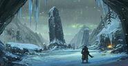 MHO-Yilufa Snowy Mountains Concept Art 014
