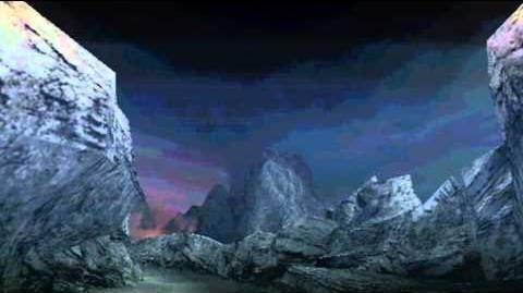 "Monster Hunter Freedom Unite -- ""Burning Rock"" (Volcano - Night)"