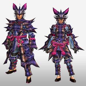 FrontierGen-Garuga G Armor (Blademaster) (Front) Render