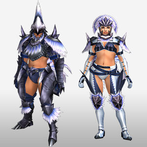 FrontierGen-Hypno S Armor (Blademaster) (Front) Render