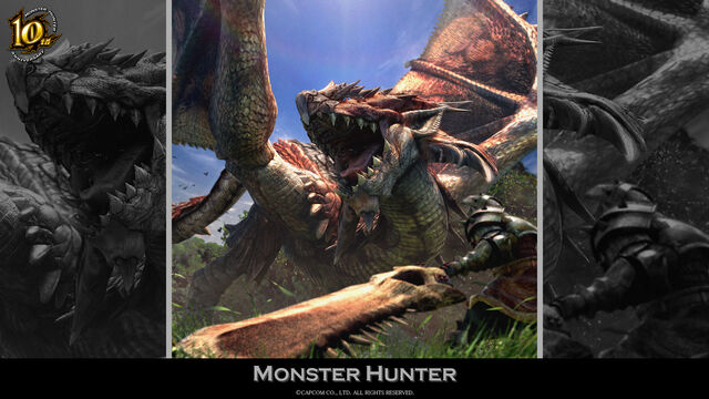 File:MH 10th Anniversary-Monster Hunter Wallpaper 001.jpg