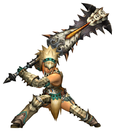 File:MHP3-Great Sword Equipment Render 001.png