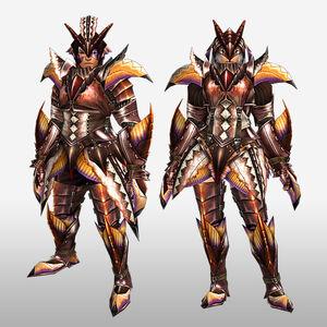 FrontierGen-Paria Armor (Blademaster) (Front) Render