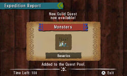 MH4U-Guild Quests Screenshot 001