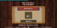 MH4U: Guild Quests