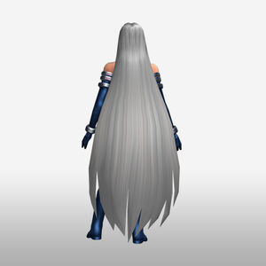 FrontierGen-Gorgon Armor 004 (Female) (Both) (Back) Render