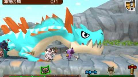 Monster Hunter Diary Team Felyne VS Lagiacrus !