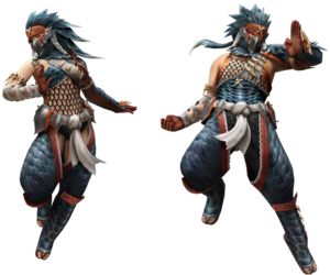 FrontierGen-Naruga Armor (Gunner) Render 2