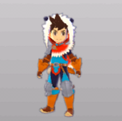 MHST-Rider Armor (Male) Render 001