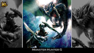 MH 10th Anniversary-Monster Hunter G Wallpaper 001