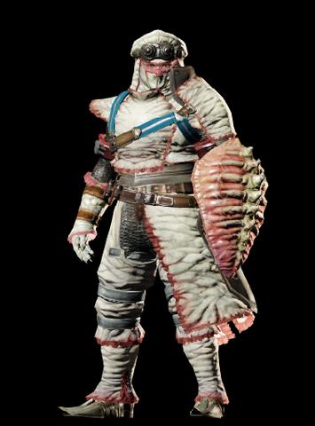 File:MHO-Khezu Armor (Gunner) (Male) Render 001.png