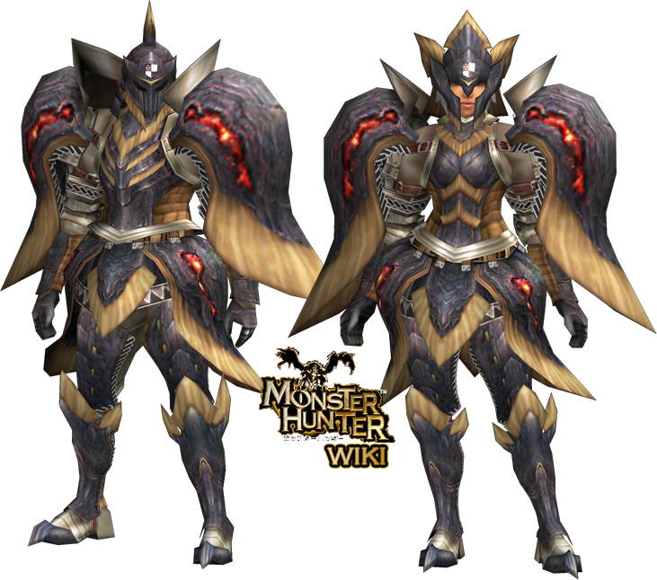 lava x armor blade monster hunter wiki fandom