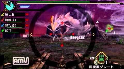 【ネタバレ注意】【MHP3】アマツマガツチ戦【プレイ動画】