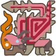 File:MH3U-Pink Rathian Icon.png