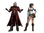 FrontierGen-Dante Armor (Male) and Lady Armor (Female) (Both) Render 2