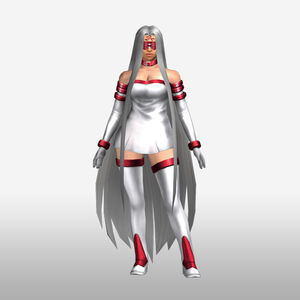 FrontierGen-Gorgon Armor 002 (Female) (Both) (Front) Render