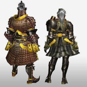 FrontierGen-Geneposu G Armor (Blademaster) (Back) Render