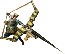 MH3U-Bow Equipment Render 001