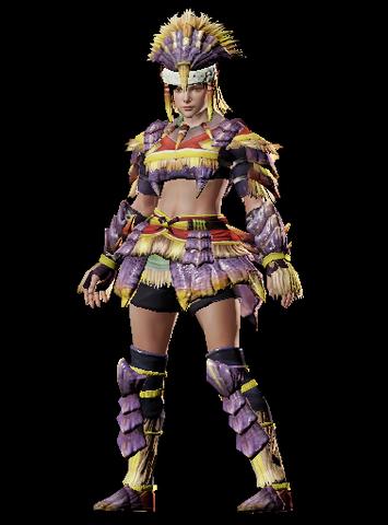 File:MHO-Caeserber Armor (Blademaster) (Female) Render 001.png
