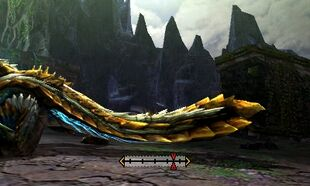 MH4U-Zinogre Tail Break 001