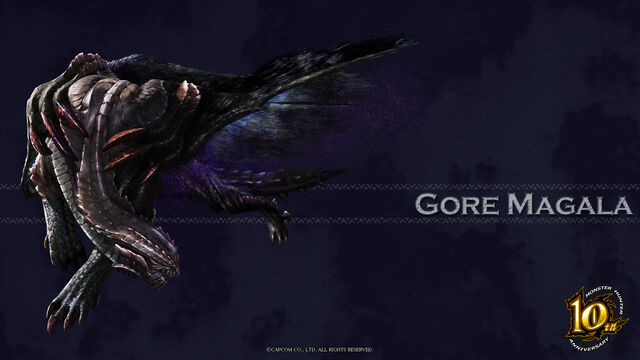 File:MH 10th Anniversary-Gore Magala Wallpaper 001.jpg