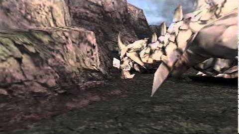 Monster Hunter Freedom Unite - Volcanic Leader (Gravios intro)