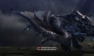 MH4U-Silver Rathalos Right Wing Break 002
