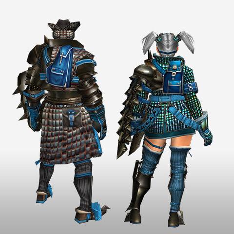 File:FrontierGen-Velociprey G Armor (Gunner) (Back) Render.jpg