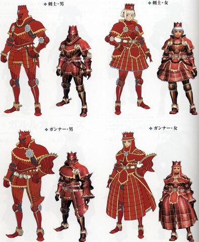 File:Teostra armor sets.jpg