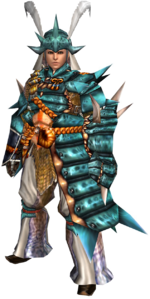 FrontierGen-Kutkusu G Armor (Male) (Gunner) Render 001