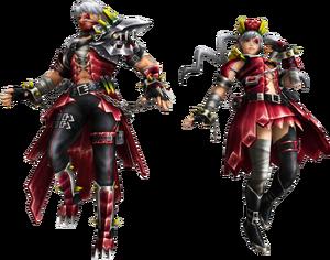 FrontierGen-Teryuo Armor (Both) Render 2